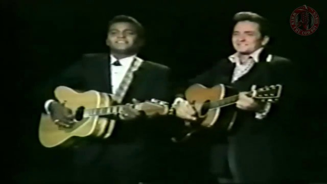 Johnny Cash e Charley Pride - I Can't Help It , Your Cheating Heart and Kaw