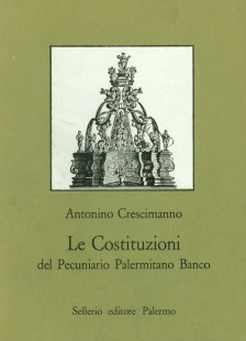 Le Costituzioni del Pecuniario Palermitano Banco