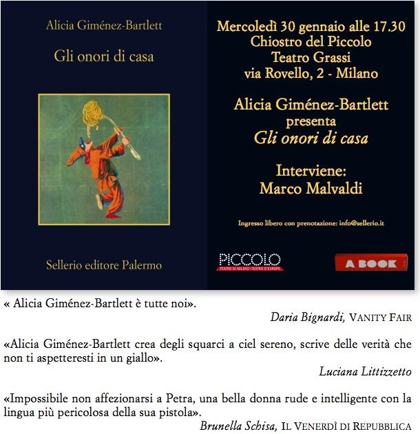 Ingresso libero con prenotazione: info@sellerio.it